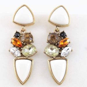 Jewelry - White Fashion Earrings